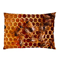 Honey Bees Pillow Case (two Sides) by BangZart