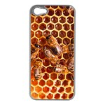 Honey Bees Apple iPhone 5 Case (Silver) Front