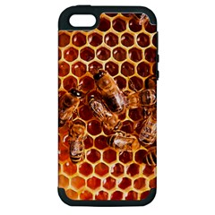 Honey Bees Apple Iphone 5 Hardshell Case (pc+silicone) by BangZart