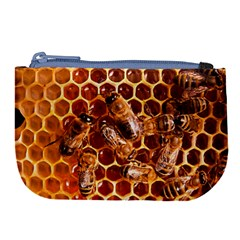 Honey Bees Large Coin Purse