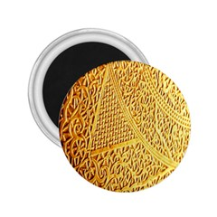 Gold Pattern 2 25  Magnets