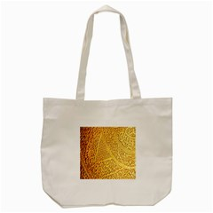 Gold Pattern Tote Bag (cream) by BangZart