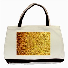 Gold Pattern Basic Tote Bag by BangZart