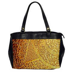 Gold Pattern Office Handbags by BangZart