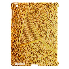 Gold Pattern Apple Ipad 3/4 Hardshell Case (compatible With Smart Cover) by BangZart