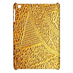 Gold Pattern Apple Ipad Mini Hardshell Case by BangZart