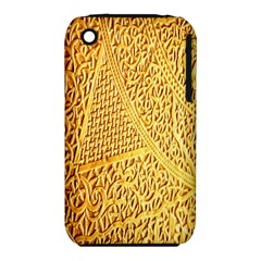 Gold Pattern Iphone 3s/3gs