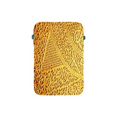Gold Pattern Apple Ipad Mini Protective Soft Cases by BangZart