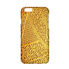 Gold Pattern Apple Iphone 6/6s Hardshell Case by BangZart