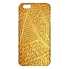 Gold Pattern Iphone 6 Plus/6s Plus Tpu Case by BangZart