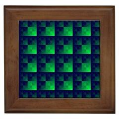 Fractal Framed Tiles