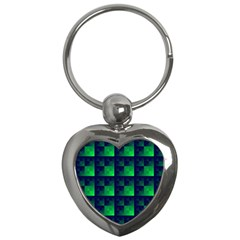 Fractal Key Chains (heart)