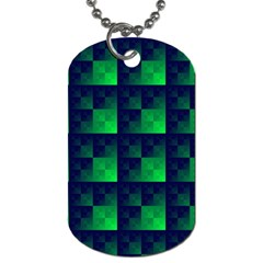 Fractal Dog Tag (two Sides)