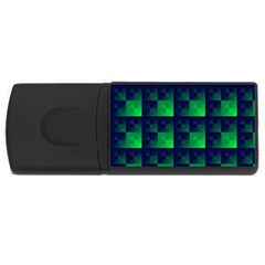 Fractal Rectangular Usb Flash Drive by BangZart