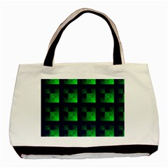 Fractal Basic Tote Bag (two Sides)