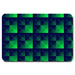 Fractal Large Doormat  by BangZart