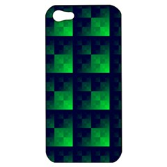 Fractal Apple Iphone 5 Hardshell Case by BangZart