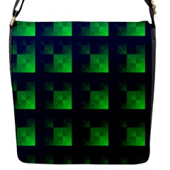 Fractal Flap Messenger Bag (s)