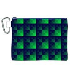 Fractal Canvas Cosmetic Bag (xl) by BangZart