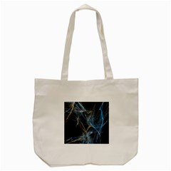 Fractal Tangled Minds Tote Bag (cream) by BangZart