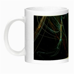 Fractal Tangled Minds Night Luminous Mugs by BangZart