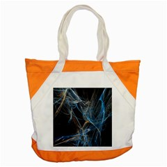 Fractal Tangled Minds Accent Tote Bag by BangZart