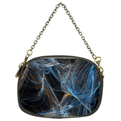 Fractal Tangled Minds Chain Purses (two Sides)  by BangZart