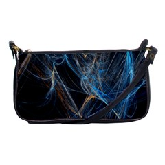 Fractal Tangled Minds Shoulder Clutch Bags by BangZart
