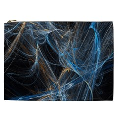 Fractal Tangled Minds Cosmetic Bag (xxl)  by BangZart