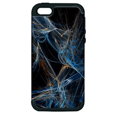 Fractal Tangled Minds Apple Iphone 5 Hardshell Case (pc+silicone) by BangZart