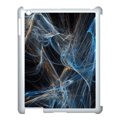 Fractal Tangled Minds Apple Ipad 3/4 Case (white) by BangZart