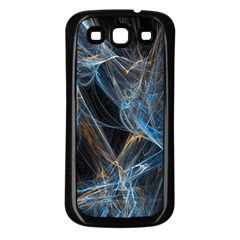 Fractal Tangled Minds Samsung Galaxy S3 Back Case (black) by BangZart