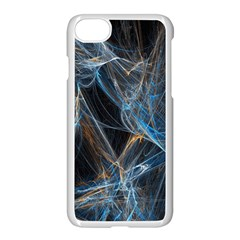 Fractal Tangled Minds Apple Iphone 7 Seamless Case (white)