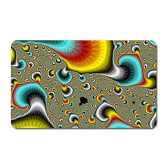 Fractals Random Bluray Magnet (rectangular)