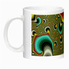 Fractals Random Bluray Night Luminous Mugs by BangZart