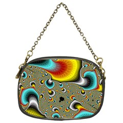 Fractals Random Bluray Chain Purses (one Side)  by BangZart