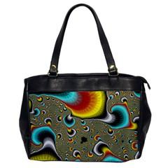 Fractals Random Bluray Office Handbags by BangZart