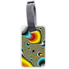 Fractals Random Bluray Luggage Tags (one Side)
