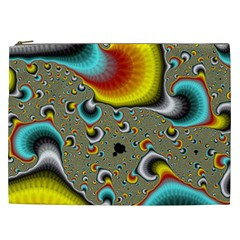 Fractals Random Bluray Cosmetic Bag (xxl)  by BangZart
