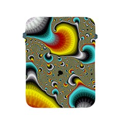 Fractals Random Bluray Apple Ipad 2/3/4 Protective Soft Cases by BangZart