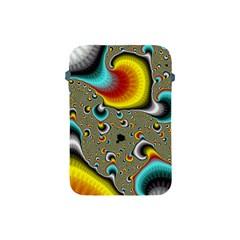 Fractals Random Bluray Apple Ipad Mini Protective Soft Cases by BangZart