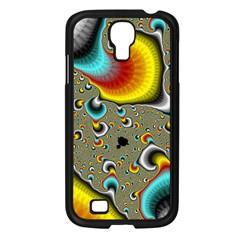 Fractals Random Bluray Samsung Galaxy S4 I9500/ I9505 Case (black) by BangZart