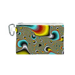 Fractals Random Bluray Canvas Cosmetic Bag (s) by BangZart
