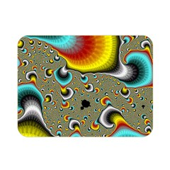 Fractals Random Bluray Double Sided Flano Blanket (mini)  by BangZart