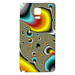 Fractals Random Bluray Galaxy Note 4 Back Case