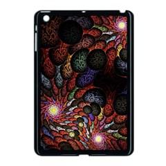 Fractal Swirls Apple Ipad Mini Case (black)