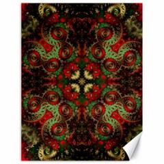 Fractal Kaleidoscope Canvas 18  X 24