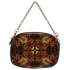 Fractal Kaleidoscope Chain Purses (two Sides)