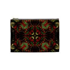Fractal Kaleidoscope Cosmetic Bag (medium)