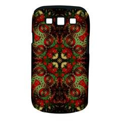 Fractal Kaleidoscope Samsung Galaxy S Iii Classic Hardshell Case (pc+silicone) by BangZart